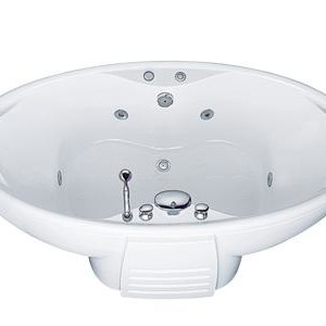 Bồn tắm massage có chân có yếm Caesar MT3280