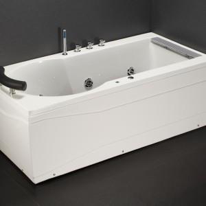Bồn tắm massage có chân có yếm Caesar MT211L(R)