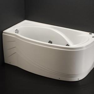 Bồn tắm massage có chân có yếm Caesar MT3350L(R)
