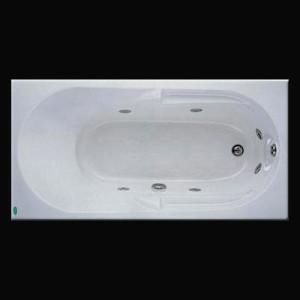 Bồn tắm massage có chân có yếm Caesar MT0250 L(R)
